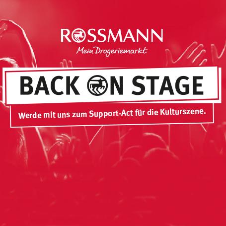 ROSSMANN unterstützt Corona-Künstlerhilfe