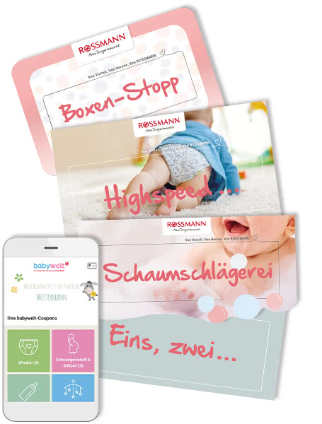 ROSSMANN-babywelt – digital und effektiv