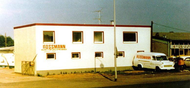 Erste ROSSMANN-Zentrale