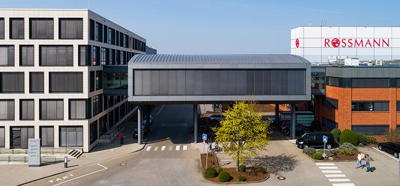 ROSSMANN Zentrale mit Hochregallager Burgwedel