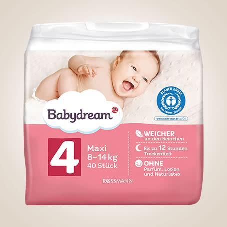Babydream-Windeln von ROSSMANN