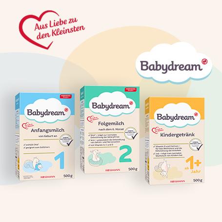 Rezepturumstellung Babydream-Milchnahrung