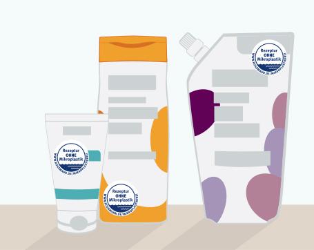 Mikroplastikfreie ROSSMANN-Produkte