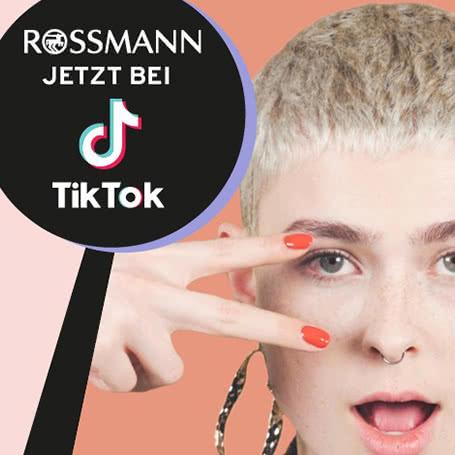 ROSSMANN setzt bei RIVAL loves me auf TikTok