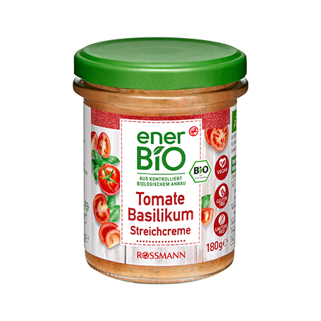 enerBiO Streichcreme Tomate-Basilikum