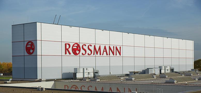 ROSSMANN Hochregallager Burgwedel