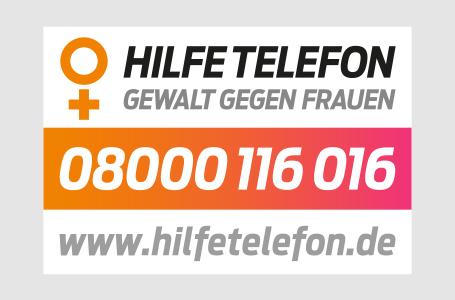 """Hilfetelefon """"Gewalt gegen Frauen"""""""