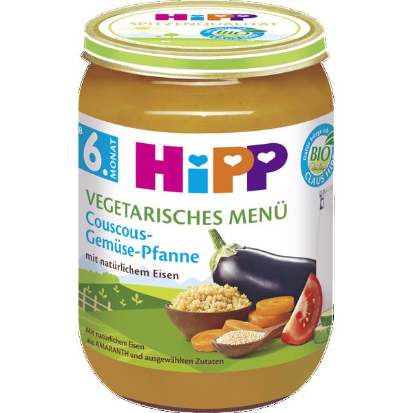 HiPP Bio - vegetarisches Menü - Couscous-Gemüse-Pfanne