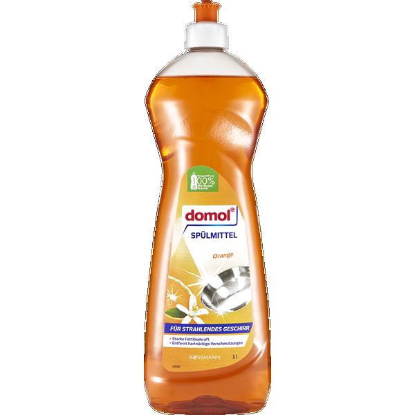 Orange Geschirrspülmittel