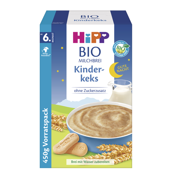 HiPP Bio-Milchbrei Kinderkeks (ab dem 6. Monat)