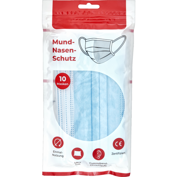 medizinischer Mund-Nasen-Schutz, blau online kaufen   rossmann.de